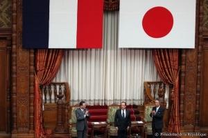 F. Hollande à la Diete du Japon - 7 juin 2013