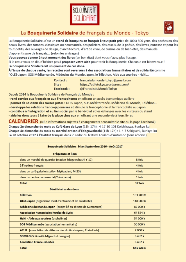 Bilan Bouquinerie Solidaire (2)